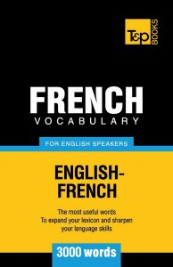 French-Vocabulary-for-English-Speakers-3000-words-194x300 French Vocabulary for English Speakers - 3000 words