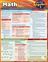 Math-Common-Core-Algebra-1-Quick-Study-Academic Math Common Core Algebra 1 (Quick Study Academic)