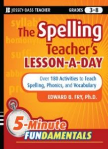 The-Spelling-Teachers-Lesson-a-Day-180-Reproducible-Activities-to-Teach-Spelling-Phonics-and-vocabulary-218x300 The Spelling Teacher's Lesson-a-Day: 180 Reproducible Activities to Teach Spelling, Phonics, and vocabulary