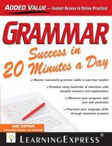 Grammar-Success-in-20-Minutes-a-Day-231x300 Grammar Success in 20 Minutes a Day, Third Edition