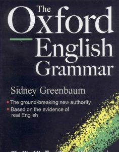 THE-OXFORD-ENGLISH-GRAMMAR-236x300 The Oxford English Grammar